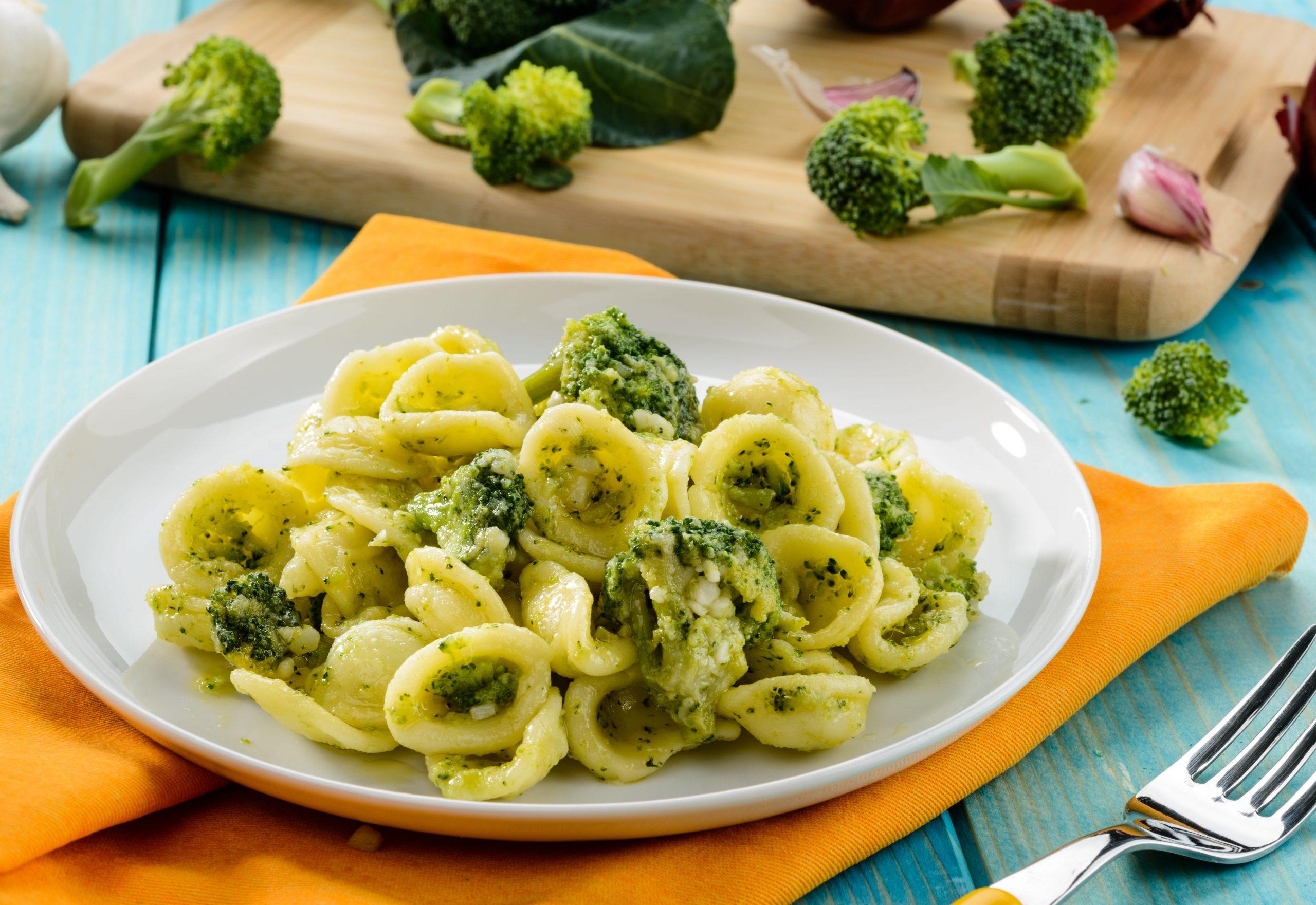 Orecchiette with broccolini